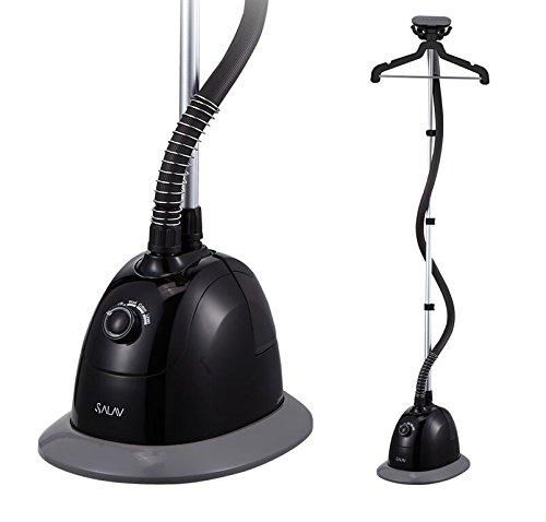 SALAV GS34-BJ 1500W Performance Garment Steamer with 360 Swivel Multi-Hook Hanger and 4 Steam Settings, Black