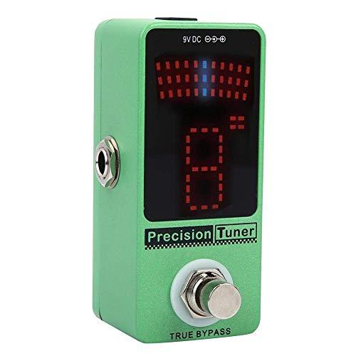 DGHJK Guitarra Pedal De Efectos Sintonizador 12 Display Equal Sintonización LED Guitarra Color Sintonización Pedal para Sintonización De Electroacústica Instrumentos