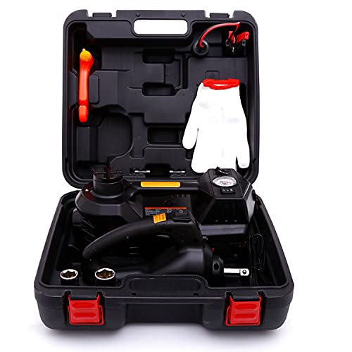 ROGTZ Electric Hydraulic Jack Set 12v 4 in1 Automatic 5 Ton car Lift Jack Set with Impact Wrench Car Repair Tool Kit