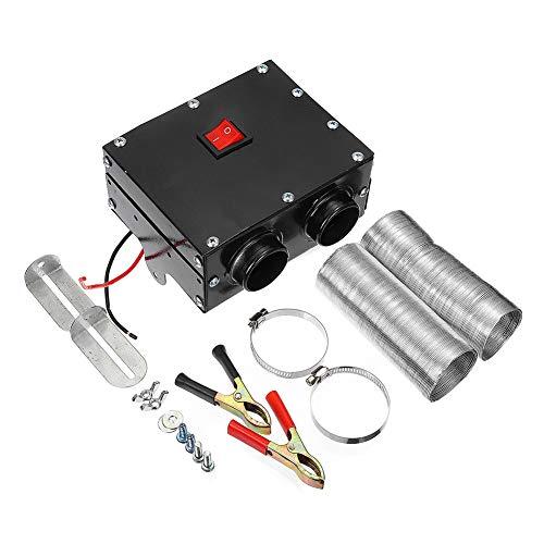 BSTQC Calefacción del Coche 12V / 24V 600W Calentador de la calefacción del Parabrisas Desempañador Antivaho Vehículo Calentador de Ventilador portátil
