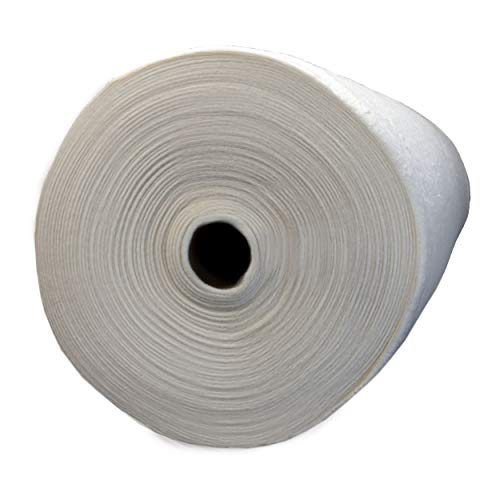 "NA 60 Cotton 40 Polyester with Scrim Batting Roll 90"" X 20 Yd Cream"