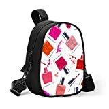 Bolsa térmica portátil con aislamiento de colores, bolsa de almuerzo para niño, bolsa de almuerzo, se fija fácilmente al cochecito para viaje, calentador de biberones o fresco