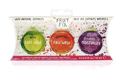 NPW Duschgel für unterwegs, Geschenkset – Fruit Fix Pod Trio