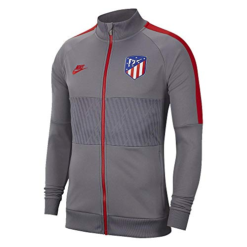 Nike Herren Atletico De Madrid Weste, Mehrfarbig (Gunsmoke/Gunsmoke/Sport red/Sport red), 2XL