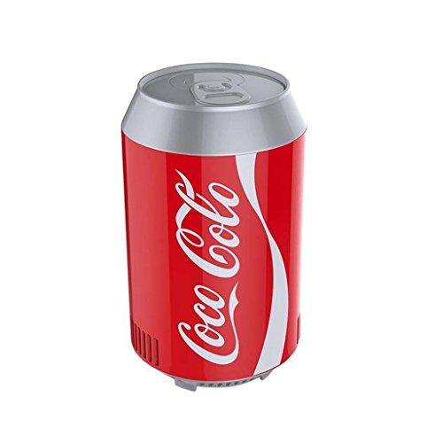 Refrigeradores MEIDUO para Bebidas De Coche USB Mini Refrigeración Latas De Cola Mini Nevera Miniatura Portátil Latas De Caja Fría Electrónica 11 * 18cm (Color : 1, Tamaño : 11 * 18cm)
