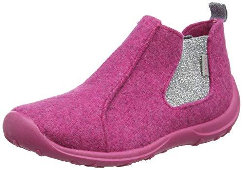 Richter Kinderschuhe Mädchen Niedrige Hausschuhe, Pink (Passion (Glitter) 3300), 21 EU