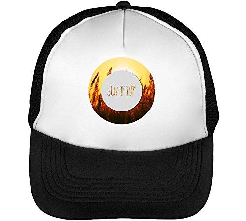 Summer Enjoy Collection Hot Naked Romantic Men's Baseball Trucker Cap Hat Snapback Black White