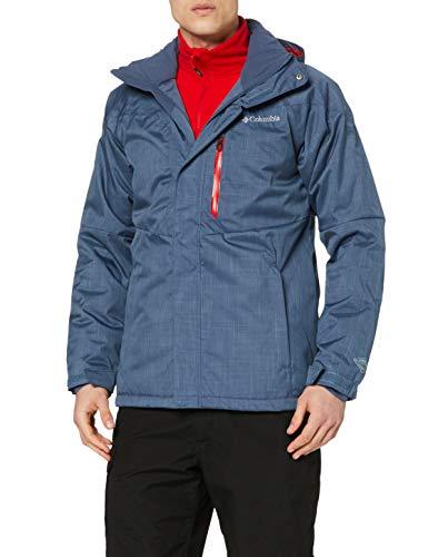 Columbia Herren Ski-Jacke, Alpine Action, Blau (Dark Mountain), M