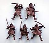 Fantasy Battles DND Action Miniatures Samurai...