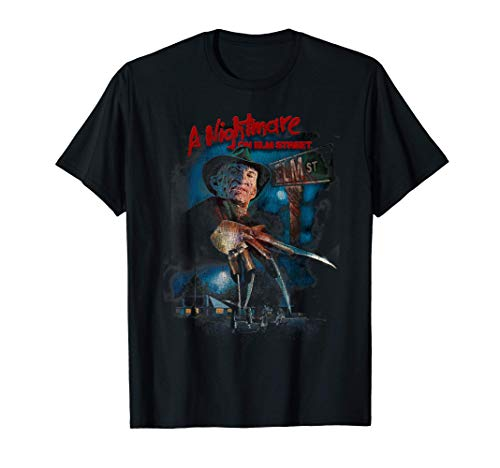 A Nightmare On Elm Street Freddy Poster Fade T-Shirt