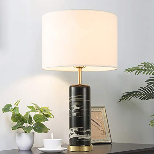 KIODS Tischlampe Modernes Schlafzimmer Marmor Tischlampe Für Schlafzimmer Dekoration Nachttischlampe