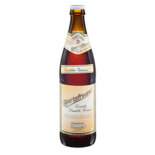 Kuchlbauer Weißbier leicht - Sportsfreund 0,5l Mehrweg (18x 0,5l) (20, 18)