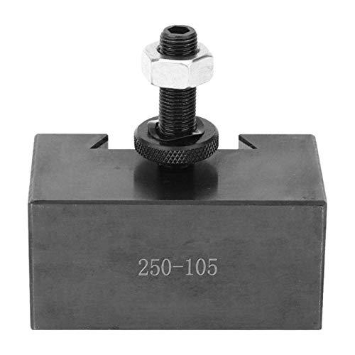 Nixi888 Accesorios de Torno Tortero de Cordones CNC Universal, Titular de Herramientas de torneado Industrial de Alta dureza, para el mecanizado de precisión 250-105 Piezas de Repuesto de Torno