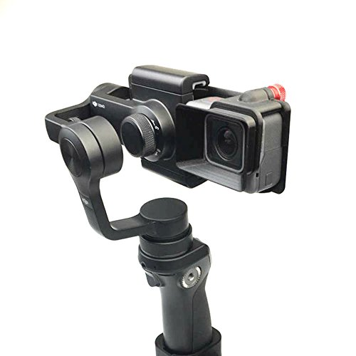 Adapter Switch Mount Plate Adapter, für GOPRO Hero 5 Kamera zu DJI OSMO Mobile Gimbal