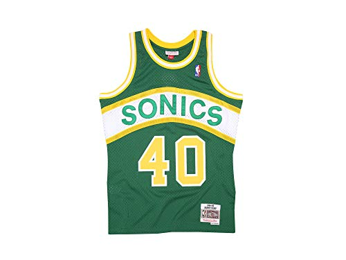 Mitchell & Ness Shawn Kemp #40 Seattle Supersonics 1994-95 Swingman NBA Trikot Grün, M