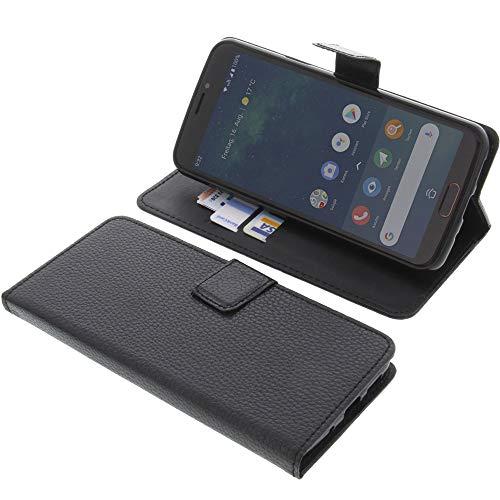 Tasche für Doro 8080 Book Style schwarz Schutz Hülle Buch