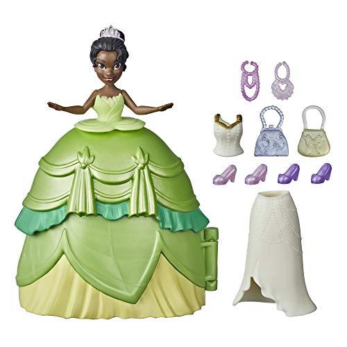 Disney Princess F12515X1 Styling Surprise Tiana Mini Doll Play Set with...