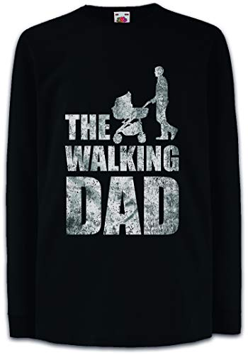 Urban Backwoods The Walking Dad Kinder Kids T-Shirt Met Lange Mouwen