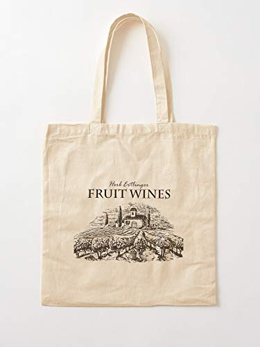 Fruit Creek Tv Comedy Schitts Wine Moira Rose I Anh Canvas Grocery Bags Tote Bags with Handles Durable Cotton Shopping Bags