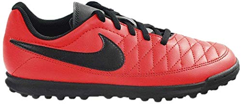 Nike JR MAJESTRY TF, Zapatillas de fútbol Sala Unisex niño, Rojo (University Red/Black 600), 34 EU