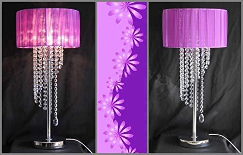 CLJ-LJ Lámpara LED de suelo de estilo europeo creativo, moderna y romántica, para sala de estar, estudio, dormitorio, noche, K9, cristal de suelo, cuidado de los ojos, luz de suelo