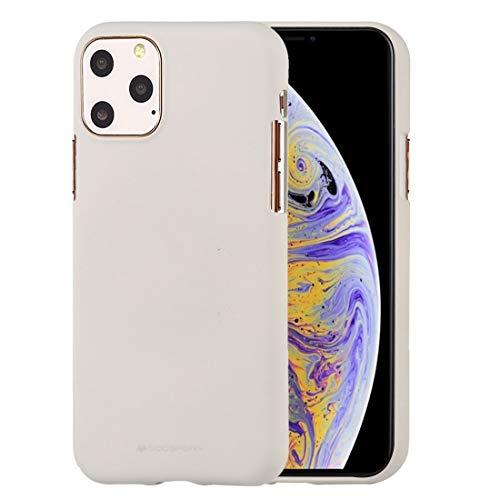PROUNON Pronuncio -SOFE sintiendo TPU a Prueba de Golpes y Scratch Case para iPhone 11 Pro MAX (Menta Verde) Cuero (Color : Stone)