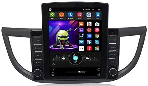 SSeir Android Car Radio Estéreo para Honda CRV 2012-2016 9.7 Pulgadas Unidad de Cabeza 2 DIN Pantalla táctil GPS Navegación con Bluetooth WiFi USB Am FM Mirror Link Player