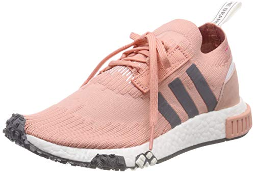 best choice united kingdom 2018 shoes adidas Nmd_Racer Pk W Zapatillas de Gimnasia Mujer, Rosa (Trace Pink/Cloud  White ), 41 1/3 EU (7.5 UK)