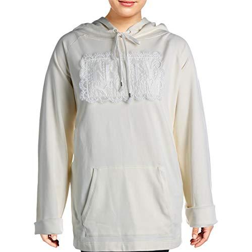 Fenty Puma by Rihanna Womens Sweatshirt Fitness Hoodie Ivory XL