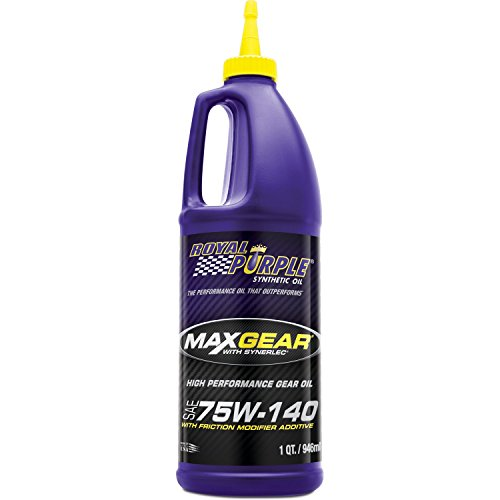 ROYAL PURPLE MAX GEAR 75W140 Quart BOTLE