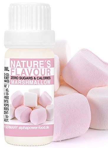 Flavour Drops Marshmallow Flavdrops I Natürliches Flave Aroma I Geschmacks Tropfen I Backaroma & Lebensmittelaroma, Zuckerfrei als liquid Konzentrat