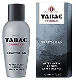 Tabac® Original Craftsman I After Shave Lotion - belebt, kühlt und erfrischt - beruhigt die Haut nach der Rasur I 150ml Splash