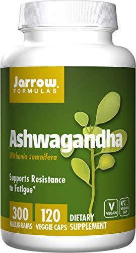 Jarrow Formulas | ASHWAGANDHA | 300 mg | 120 vegane Kapseln | Schlafbeeren Extrakt