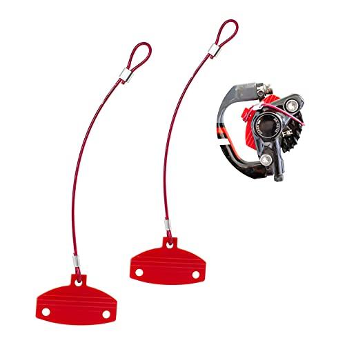 GORIX ゴリックス ディスクパッドスペーサー (GX-DISCPAD) ダミーローター 2個入り 自転車 輪行アクセサリー 油圧ブレーキピストン出るの防止 ディスクブレーキに