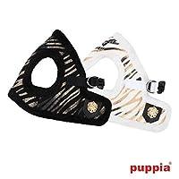 【PUPPIA】Polar胴輪(ハーネス) M ホワイト (AH1278)