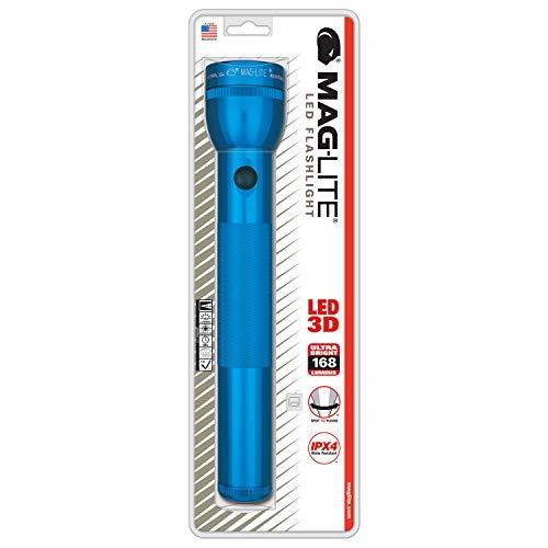 Mag-Lite ST3D116 3 D-Cell Lampe Torche LED Métal Bleu 31,5 cm
