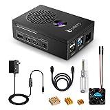 LABISTS Raspberry Pi 4B TypeC電源ケーブル 専用ケース 5.1V 3A スイッチ付き ACアダプター PSE取得 HDMIケーブル