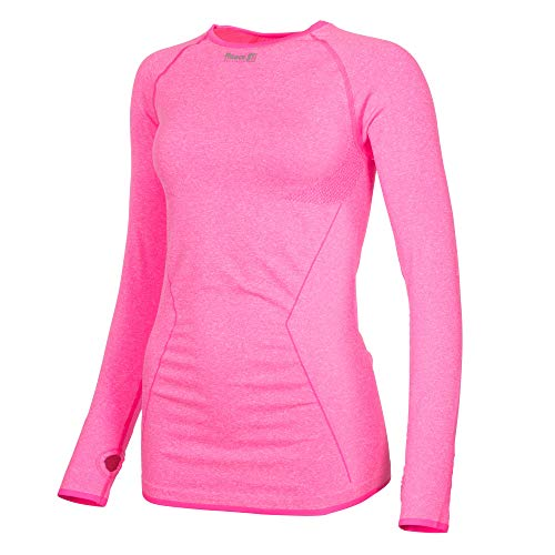 Reece Hockey Amy Top Langarm - knockout pink, Größe Reece:M/L