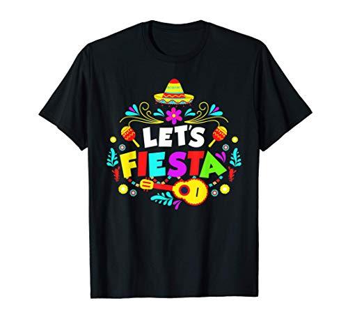 Cinco De Mayo Party Lets Fiesta Mexican T-Shirt