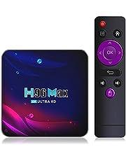 TAORANG Android TV Box-Tv Box Android 11.0 4K HD-TV-Box Bluetooth 4.0 2021 Smart TV-Box WIFI Google Voi Ställ in TV- Låga