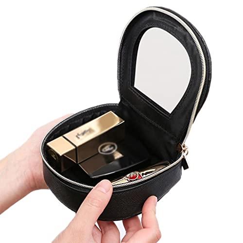 ZANZAN Espejo de maquillaje Mini espejo cosmético portátil, bolsa de cosméticos viaje con espejo monederos de regalo femenino bolso bolsillo vanidad espejos