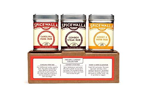 Spicewalla Grill Seasoning 3 Pack | Pork, Steak, Chicken & Vegetables | Barbeque Spices and Seasonings Set 3 Pack