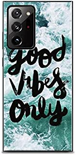 Case box Good vibes only back cover for Samsung note 20 Ultra