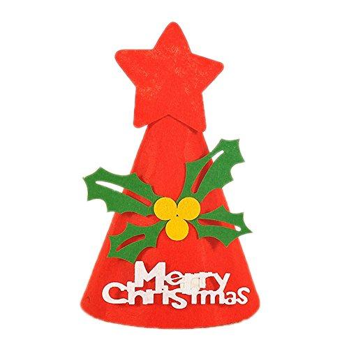 Demarkt Chapeau de Noël Décorations de Noël Merry Christmas Décoration de Noël Sapin Snowman Ornement pour Christmas Day