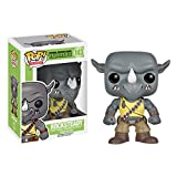 Funko Pop Television : Teenage Mutant Ninja Turtles - Rocksteady 3.75inch Vinyl Gift for Anime Fans SuperCollection
