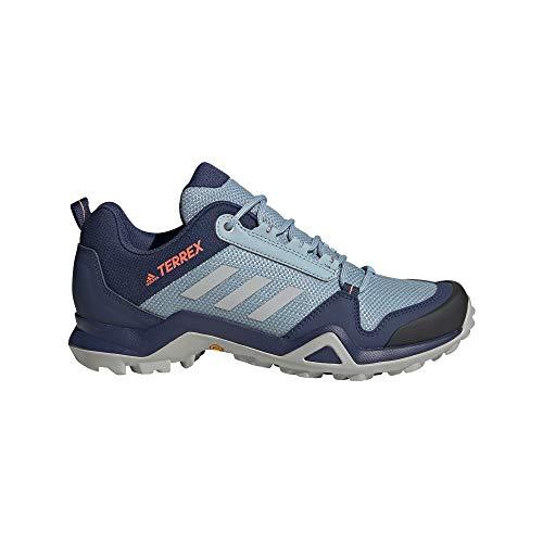 adidas Terrex AX3 W, Zapatillas Deportivas Mujer, Tech Indigo/Grey Two F17/SIGNAL Coral, 38 EU