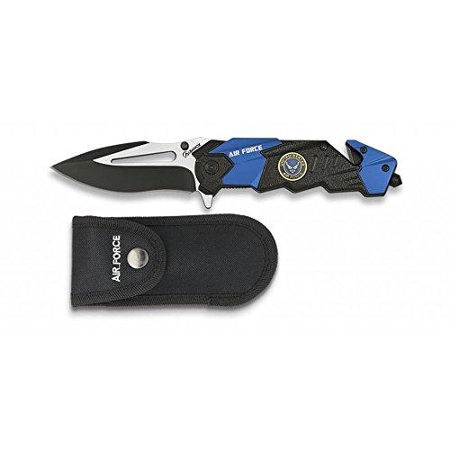 Couteau ALBAINOX Air Force Lame 8,5 cm. Acier Inoxydable.