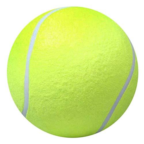 Pet Balls Tennisbälle, Hundespielzeug Ball, Spielzeug für Haustiertraining, 24,1 cm großer Tennisball Haustierspielzeug Mega Jumbo Hunde Spielzubehör Spaß Outdoor Sport Strand