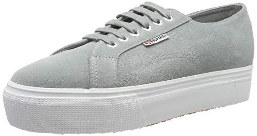 SUPERGA 2790-SUEW, Sneaker Donna, Grigio (Lt Grey 506), 36 EU