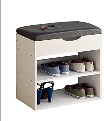 qazxsw Organizador de Ranuras para Zapatos Estantes para Zapatos Estante para Zapatos Estante para Zapatos Estante para Zapatos con Parte Superior de Cuero sintético para el hogar si